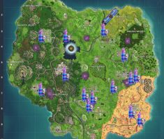 Top Places to Find Fortnite llama