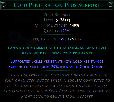 Cold Penetration Plus Support