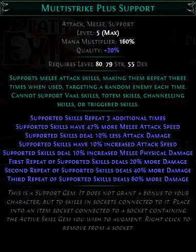 Multistrike Plus Support